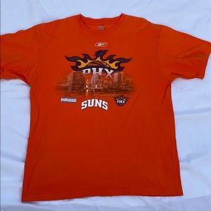 PHOENIX SUNS reebok orange tee playoffs tee